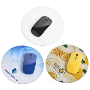 Antibacterial mouse pad